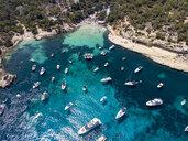 Spain, Mallorca, Palma de Mallorca, Aerial view of Region Calvia and El Toro, Portals Vells - AMF06927