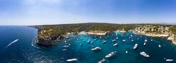 Spain, Mallorca, Palma de Mallorca, Aerial view of Region Calvia and El Toro, Portals Vells - AMF06933
