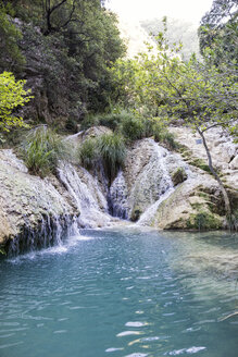 Polylimnio Wasserfälle bei Kazarma, Messenien, Peloponnes, Griechenland - MAMF00600