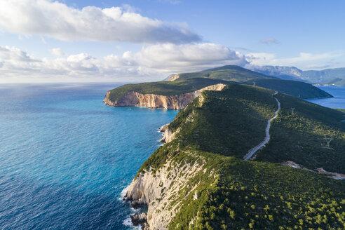 Greece, Lefkada, aerial view of Cape Lefkadas - TAMF01363