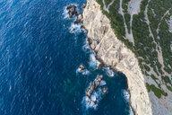 Greece, Lefkada, aerial view of Cape Lefkadas - TAMF01366