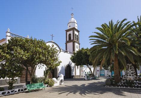 Spain, Canary Islands, Lanzarote, Arrecife, San Gines church - SIEF08625