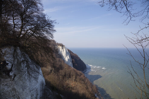 Germany, Mecklenburg-Western Pomerania, Ruegen, Jasmund National Park, Chalk Cliff Koenigsstuhl - WIF03884