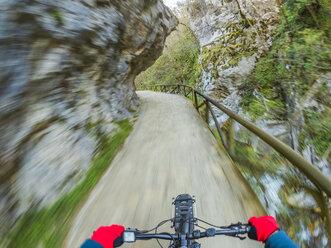 Spain, Asturia, Ruta del Alba, Personal perspective of cyclist - LAF02279