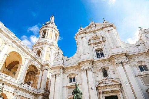 Italy, Marche, Loreto, low angle view of Basilica della Santa Casa - FLMF00193