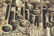 Rusty old-fashioned keys - BLEF02229