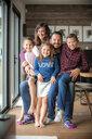 Portrait of smiling family - BLEF02736