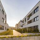 Germany, Nuertingen, multi-family houses - WDF05266