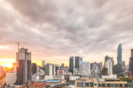 Cityscape at sunset, Bangkok, Thailand - CUF51127