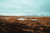 Mountains in background, Eskifjörður, Sudur-Mulasysla, Iceland - CUF51256