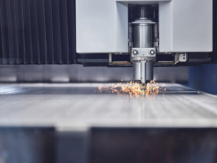 Close-up of laser cutter - CVF01191