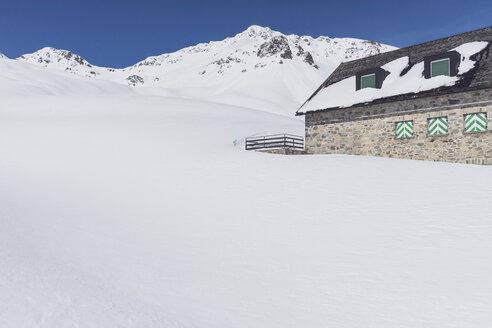 Austria, Tyrol, between Ischgl and Galtuer, Friedrichshafener lodge - MMAF00928