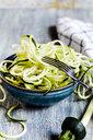 Zoodles, spiralized zucchini - SBDF03947