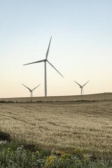 Spain, Andalusia, wind turbines - KBF00609