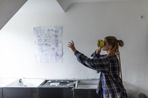 w24, Mülheim an der Ruhr, NRW, Deutschland, Küche, zusammenbauen, DIY, Virtual Reality - GUSF01996