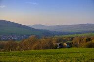 Sunset, Ehrenberg, Rhoen, Germany - LBF02567