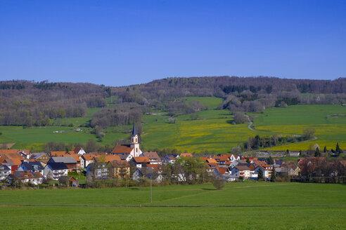 Wüstensachsen, Ehrenberg, Rhön, Hessen, Deutschland - LBF02570