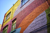 UK, London, Neal's Yard, colourful house facade - MR01958
