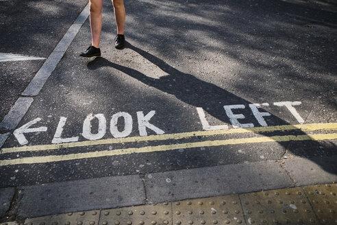 UK, London, writing on the street - MRF01961