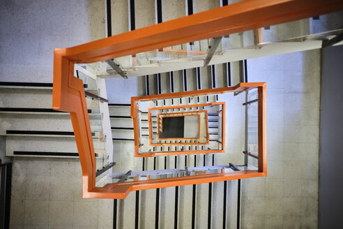 UK, London, stairwell - MR01967