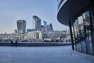 UK, London, City Hall and skyline - MRF01985