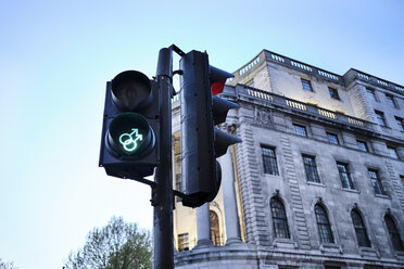 UK, London, gay-themed traffic lights - MRF01991