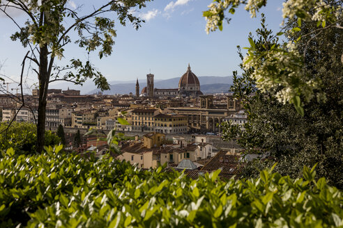 View to Florence cathedral, Florence, Italy - MAUF02449