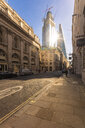 UK, London, Liverpool Street, financial district with the Shard in the background - TAMF01452