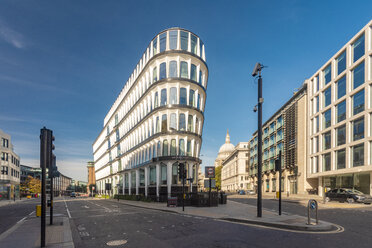 UK, London, City of London, Avanade building at Cannon Street, Queen Victoria Street - TAMF01467