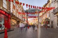 UK, London, Long exposure of Chinatown - TAMF01470