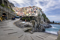Manorola, Cinque Terre, Ligurian Riviera,  La Spezia Province, Italy - STSF01976