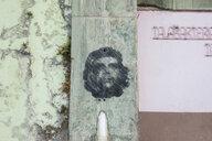Graffitto of Che Guevara on facade - HSI00639