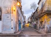 Street view at the old town, Havana, Cuba - HSIF00648