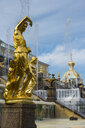 Samson fountain before the Peterhof palace, St. Petersburg, Russia - RUNF02117