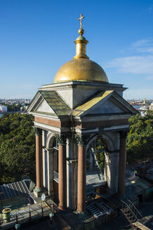 View from the Saint Isaac's Cathedral with a golden cupola, St. Petersburg, Russia - RUNF02132