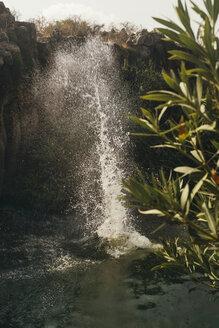 water splash, Yehudiya National Park, Israel, Golan, Yehudiya - GCF00254