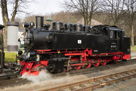 Narrow Gauge Railway, 'Rasender Roland', Sellin, Ruegen, Germany - WI03925
