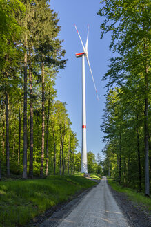 Wind wheel in the Swabian Forest, Rems-Murr-Kreis, Germany - STSF01987