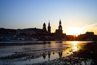 Skyline by sunset, Dresden, Germany - PUF01508
