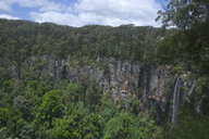 Waterfall in the Springbrook National Park, New South Wales, New South Wales, Australia - RUNF02207