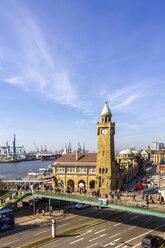 Port of Hamburg, Clocktower at Landungsbruecken, Hamburg, Germany - PUF01559