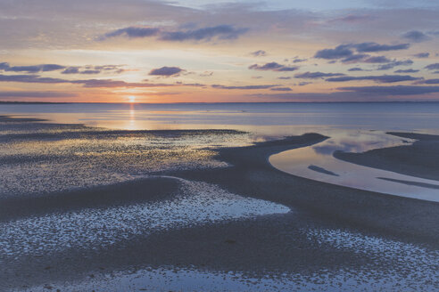 Sunrise over North Sea, Sylt, Germany - IHF00060