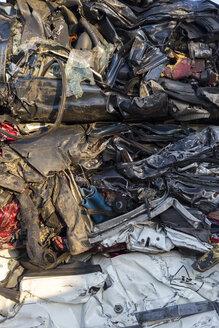 Compressed cars in a scrapyard - JPTF00084