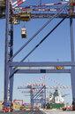 Cranes at commercial dock - JUIF01103