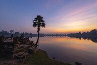View to Srah Srang at sunset, Cambodia - TOVF00125
