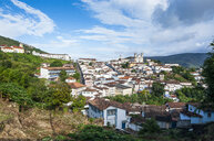 View of the colonial town of Ouro Preto, Minas Gerais, Brazil - RUNF02340