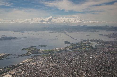 Aerial view of Rio de Janeiro, Brazil - RUNF02371