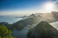 View from the Sugarloaf Mountain at sunset, Rio de Janeiro, Brazil - RUNF02383