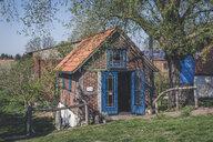 Small cafe, Wahrenberg, Saxony-Anhalt, Germany - KEBF01232
