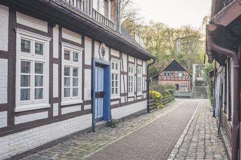 Half-timbered houses, Hitzacker, Lower Saxony, Germany - KEBF01241